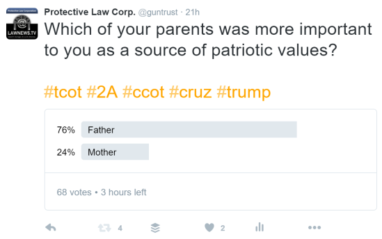 snip parent patriot poll